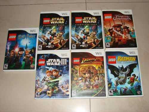 Juegos de lego nintendo wii originales varios titulos 10v