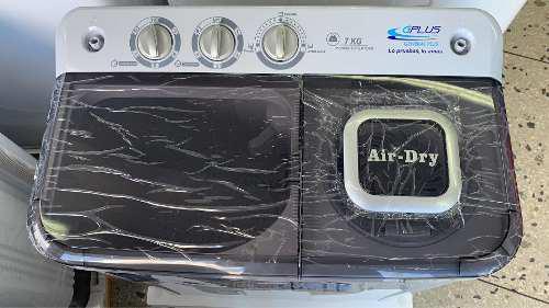 Lavadora doble tina gplus 7 kg mod nuevo gris tienda física