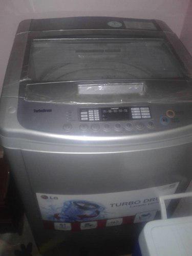 Lavadora lg turbo drum automática de 13 kg