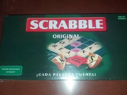 Scrabble juego de mesa nuevo de paquete