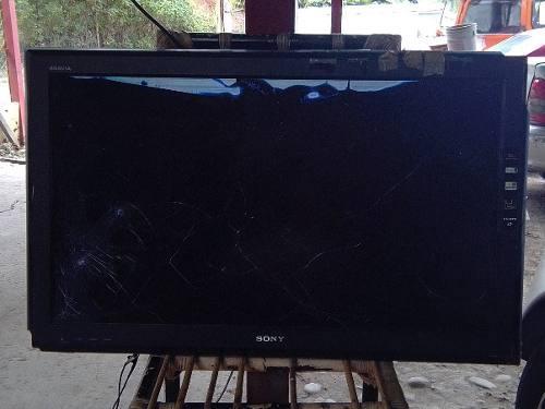 Televisor lcd sony bravía mod klv-37l500a pantalla rota