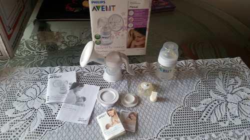 Extractor manual de leche materna marca avent phillis