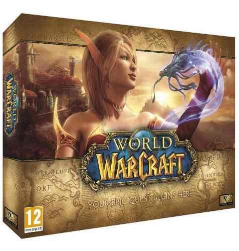 Juego para pc, world of warcraft