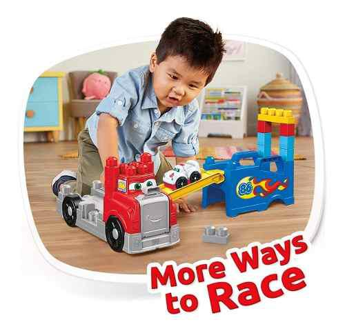 Mega bloks build & race rig building set