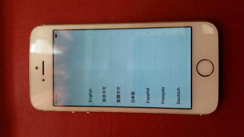 Iphone 5s bloqueado por icloud en buen estado se aceptan cam