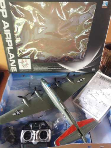 Avion a c/r modelo caza tergopol