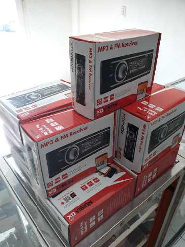 Reproductor xo vision radio usb sd aux tienda