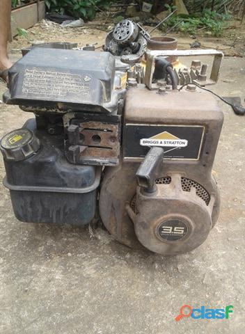 Bomba de achique de 3.5 hp a gasolina