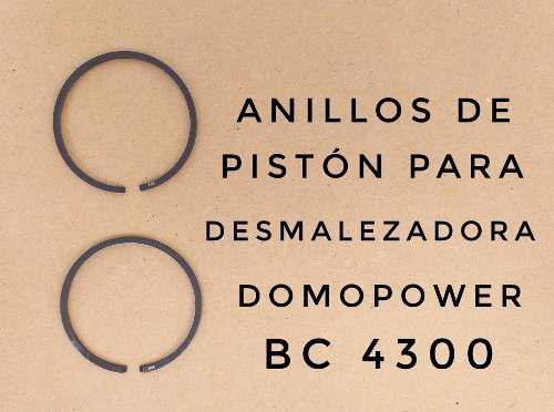 Anillos para desmalezadora domopower domosa bc-4300 43cc