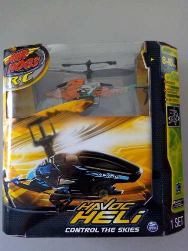 Helicoptero havoc heli r/c para niños 8-10 años