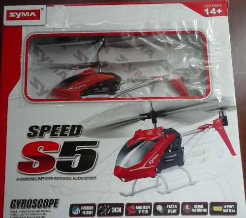 Helicóptero a control remoto nuevo