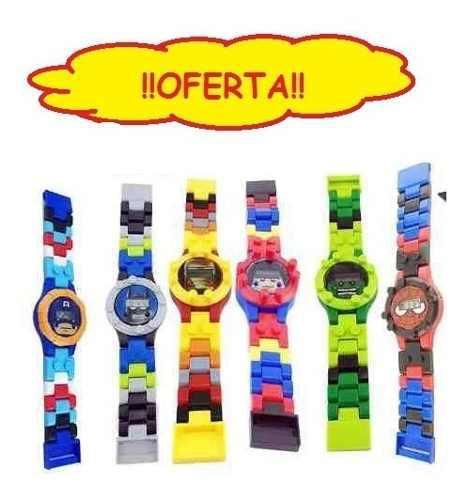 Oferta reloj digital lego niños avengers iron man marvel dc