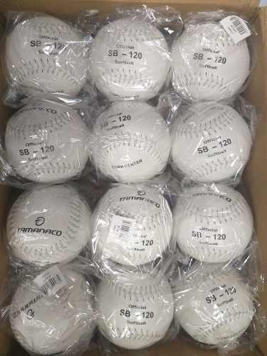 Pelotas de softball tamanaco sb 120 imoortada cork center