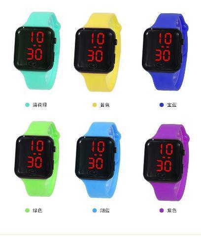 Reloj de pulsera touch slim digital unisex somos tienda