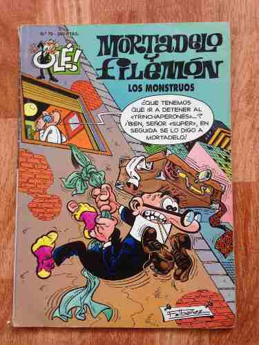 Comics Mortadelo Y Filemón. Los Monstruos. N° 70