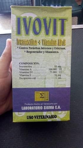 Ivovit ad3 x 500ml ivermectina con vitaminas uso veterinario
