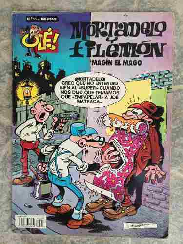 Mortadelo Y Filemón. Magin El Mago N° 55