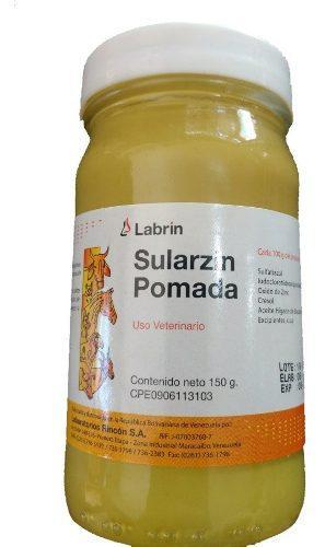 Pomada sularzin 150 gramos labrin
