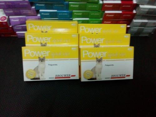 Power pipeta pulguicida para gatos de 0 a 4 kg