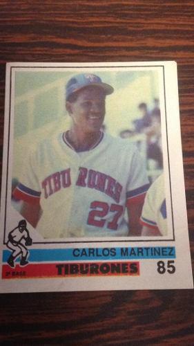Rigoju barajita carlos martinez álbum papel 1988-89