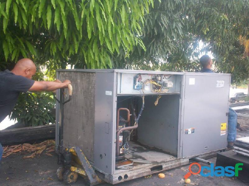 Servicios de aires acondicionado industrial comercial y residencial