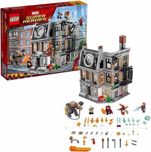 Lego super heroes avengers: sanctum sanctorum 76108 1004 pza