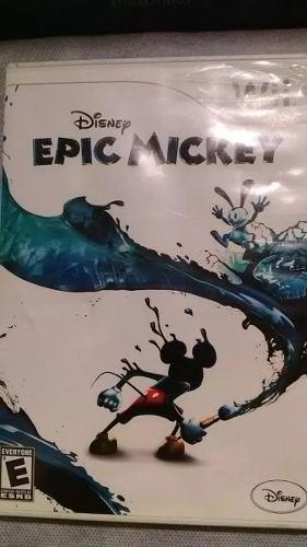 Epic mickey 1 para nintendo wii original