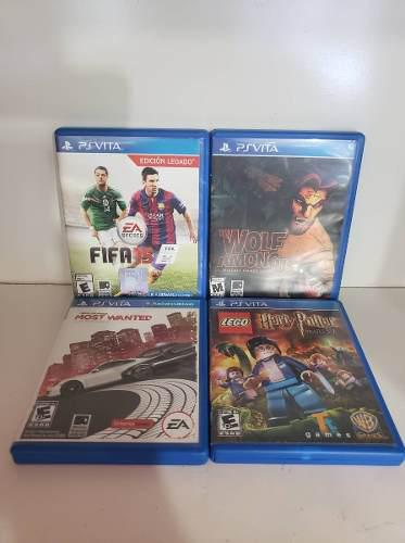 Juegos ps vita fifa 15, need for speed, the wolf among us
