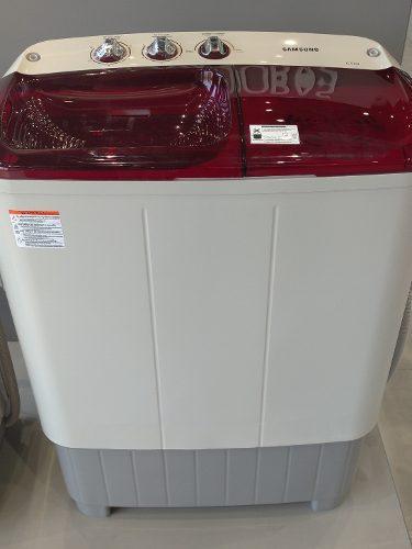 Lavadora dobletina 6.5kg nuevas con garantía samsung 155$