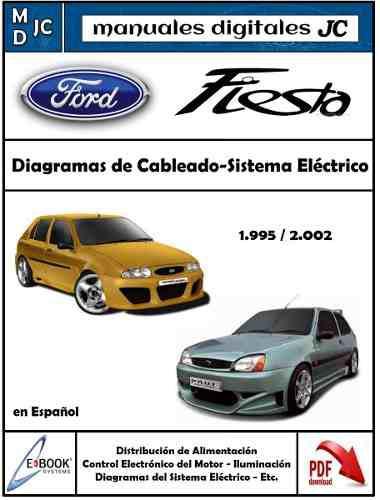 Manual diagramas eléctricos ford fiesta balita 95-02