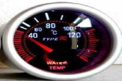 Reloj temperatura agua eléctrico type r smoke ahumado jdm