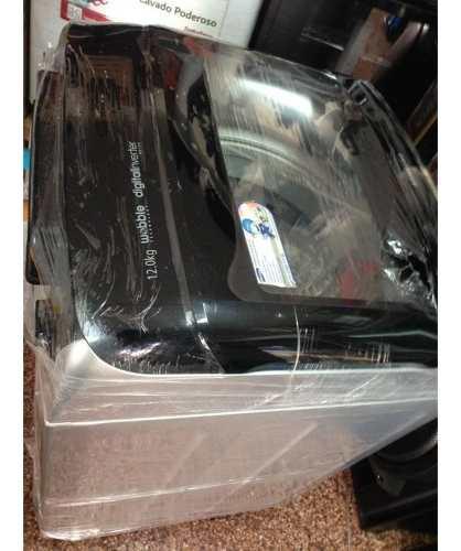 Samsung lavadora wobble 12 kg silver