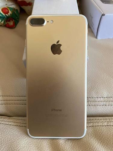 Iphone 7 plus gold para usar con rsim como nuevo