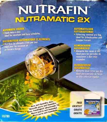 Alimentador Automático Para Peces Nutrafin.