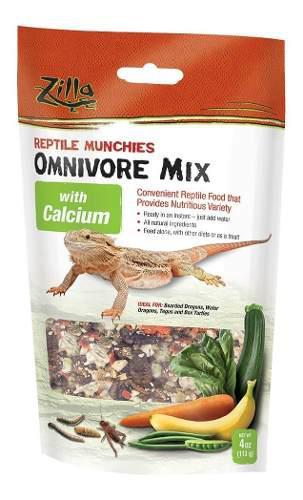 Alimento para dragones barbudos y agua tortuga zilla 113 grs
