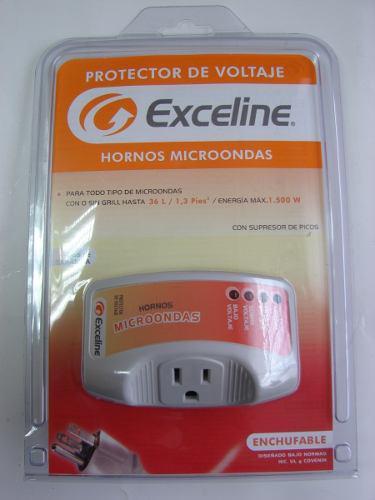 Protector de voltaje horno microondas exceline mod. gsm-mw12
