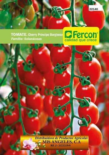 Semillas De Tomate Cherry Certificadas