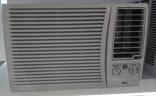 Aire acondicionado lg 12 mil btu de ventana totalmente nuevo