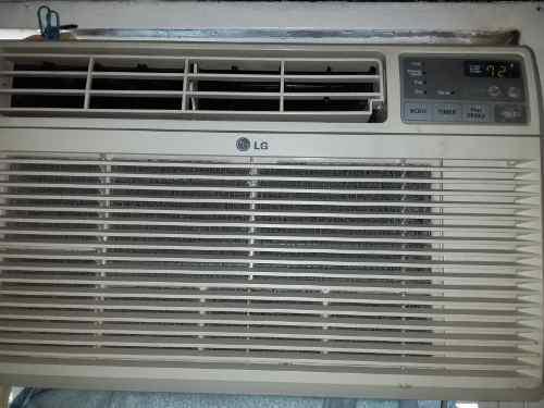 Aire acondicionado lg de ventana 8000 btu 110v