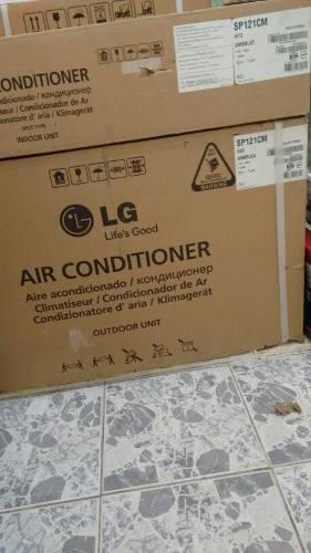 Aire acondicionado split marca lg 12000 btu 110 v
