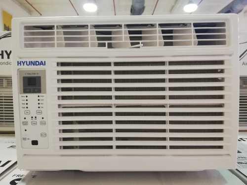 Aire acondicionado ventana hyundai 6000 btu control remoto