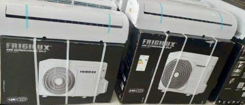 Aires acondicionados de 18.000 btu frigilux nuevos de paquet