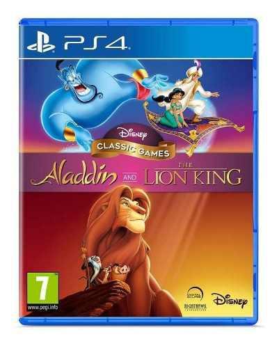 Juego Disneys Clásicos Aladdin Y Rey León Ps4 Nuevo Disney
