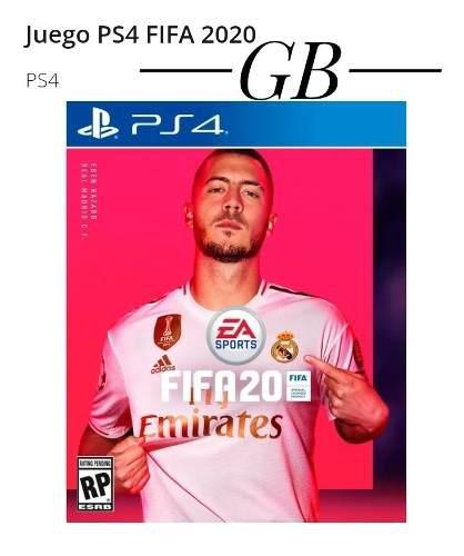 Juego Fifa 2020 Playstation 4