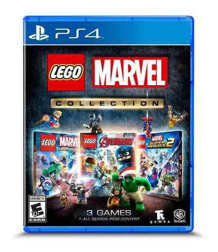 Juego Lego Marvel Collection Ps4, Incluye 3 Juegos