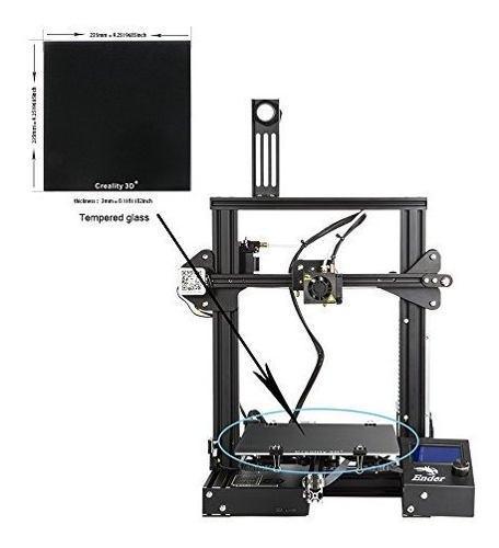 Para cama creality plataforma impresora 3d ultrabase
