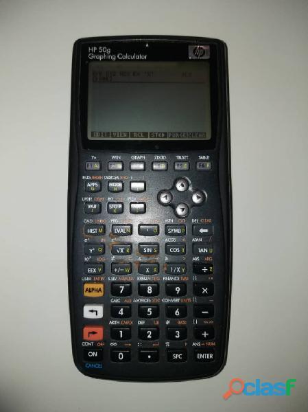 Calculadora gráfica y programable hp 50g