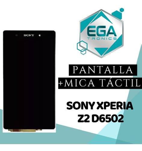 Pantalla lcd + tactil sony xperia z2 d6502 d6503 d6543 nueva