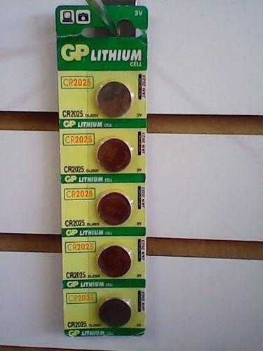 Pilas gp cr-2025, 2016, 2032 3v lithium