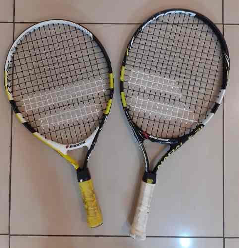 Raquetas de tenis babolat, wilson y dixson